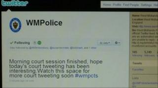 West Midlands Police Twitter feed