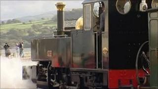 Welsh Highland locomotive