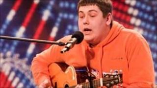 Michael Collings on Britain's Got Talent