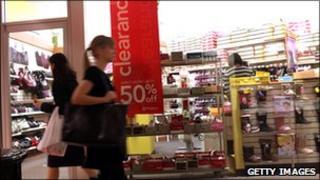 Shoppers in Brooklyn