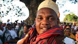 President-elect Ikililou Dhoinine