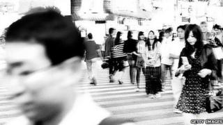 Shinjuku crossing in Tokyo
