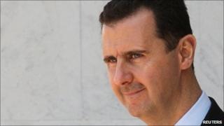 Syrian President Bashar al-Assad - 22 March 2009