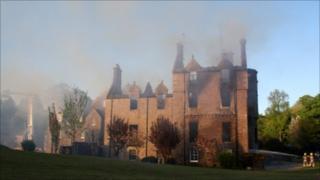 Argaty House fire