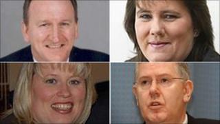 Tom McCabe, Karen Gillon, Karen Whitefield and Andy Kerr entered Holyrood in 1999