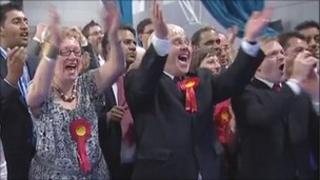 Labour celebrates taking control of Sheffield City Council