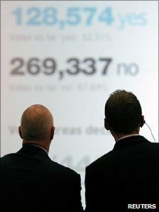 AV referendum count