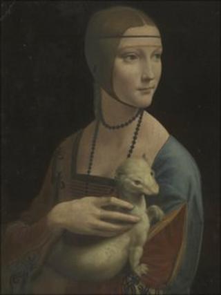 The Lady with an Ermine by Leonardo da Vinci