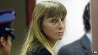 Belgian convicted paedophile Marc Dutroux's estranged wife Michelle Martin, file pic, 2004