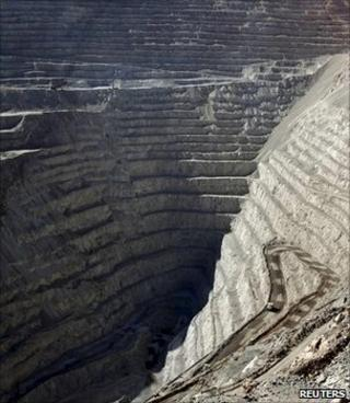Copper mine, Chile (Image: Reuters)