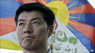 Tibetan government-in-exile's prime minister Lobsang Sangay
