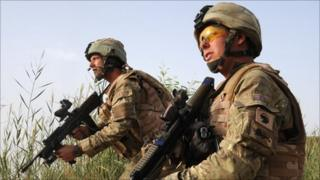 Photo: Ministry of Defence. British troops preparing for Operation Tor Shezada in Afghanistan (2010)
