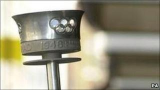 Design of the Olympic Torch used in the London Games in 1948