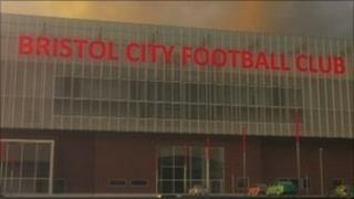 Mock up of new stadium