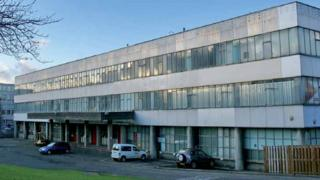 HMSO Store at Sighthill Industrial Estate
