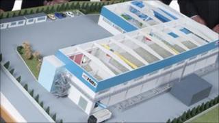 Plans for MBT plant