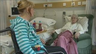 Patients in hospice