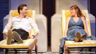 David Tennant and Catherine Tate in Much Ado About Nothing.