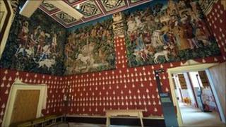 Stirling Castle Royal Palace. Pic by Chris Sleight