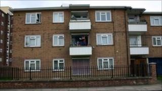 Housing estate, Stockwell