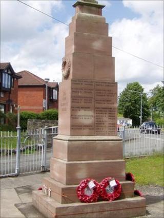 Presteigne war memorial