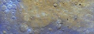 Planet's surface (Nasa/The Johns Hopkins University Applied Physics Laboratory/Carnegie Institution of Washington)