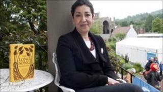 Andrea Levy at the Borders Book Festival