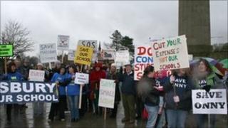 Protests against school closures