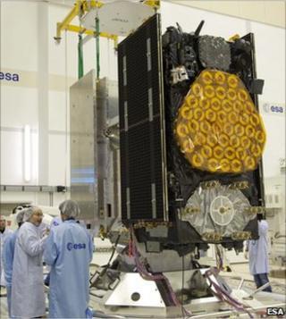 Galileo satellite (Esa)