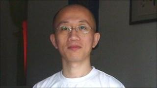 First image of Hu Jia since his release