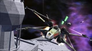 Screenshot from Star Wars Galaxies, Lucas Arts