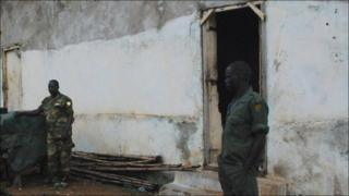 The 'White House' prison in Juba, South Sudan