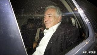 Dominique Strauss-Kahn in New York, 1 July