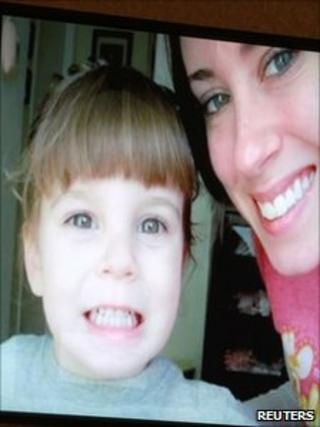 Caylee and Casey Anthony