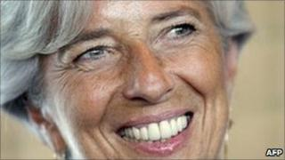 Christine Lagarde, file pic