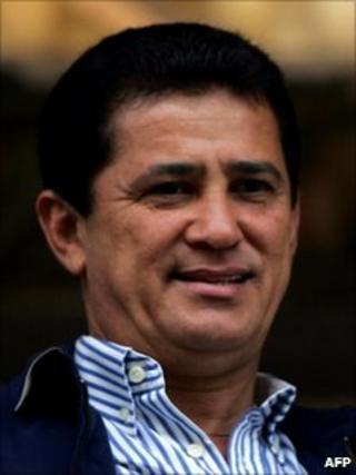 Former transport minister, Alfredo Nascimento (photo: MAURICIO LIMA/AFP/Getty Images, 24 July 2005)