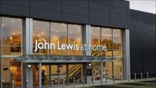 "John Lewis currently has four ""at home"" stores, the first opening in Poole, Dorest, in 2009"