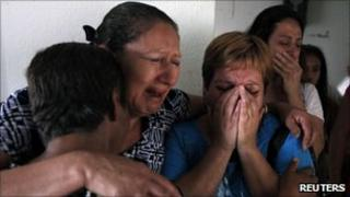 The family of Humberto Leal Garcia reacts after finding out about his death