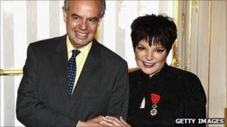 French Culture Minister Frederic Mitterrand, and Liza Minnelli