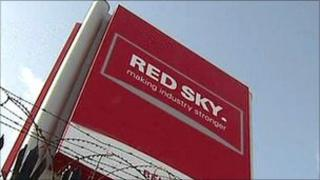 Red Sky sign