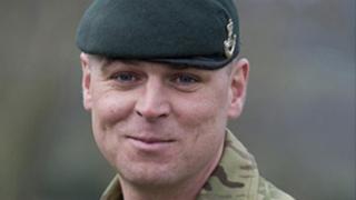 Corporal Mark Anthony Palin