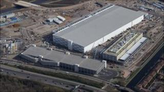Aerial view of IBC