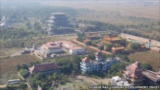 Lumbini monastery complexes