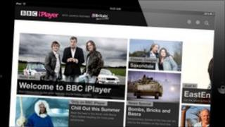 Global iPlayer on iPad
