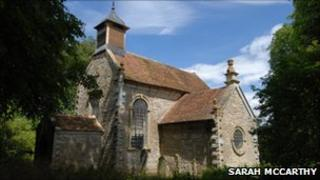 All Saints church in Billesley