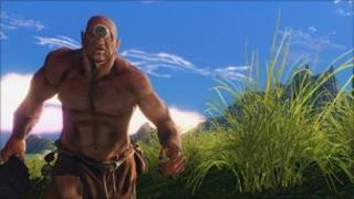 Screenshot from Entropia Universe, Entropia Universe