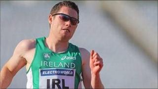 Jason Smyth may have to improve his personal best of 10.32