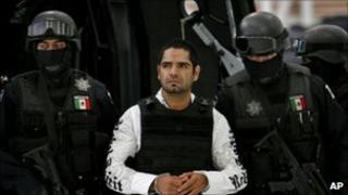 Jose Antonio Acosta Hernandez in Mexico City on 31 July 2011
