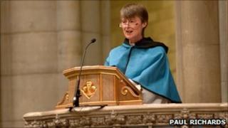 The Reverend Canon Dr Audrey Elkington Pic: Paul Richards