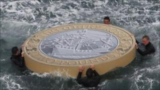 A floating commemoration to mark the 500th anniversary of the maiden voyage of the Mary Rose
